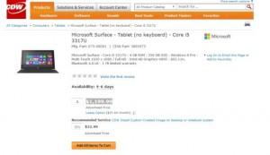 Surface Pro у CDW