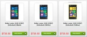 Nokia Lumia 1020 в интернет-магазине Negri Electronics