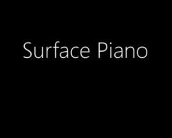 88 планшетов Surface RT в роли пианино