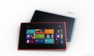 Концепт планшета Nokia под названием Nokia 1