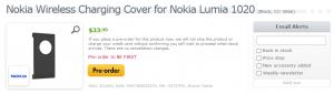 Крышка для беспроводной зарядки Nokia Lumia 1020 у Expansys