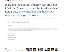 6tagram будет доступен всем через несколько дней