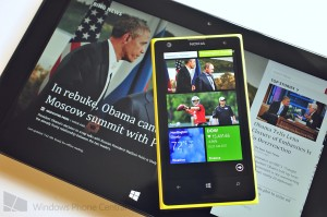 Bing News для Windows Phone