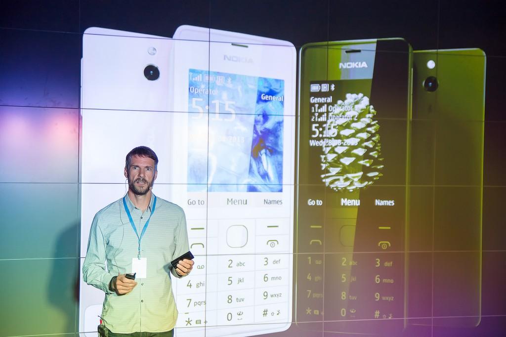 Питер Гриффит. Глава подразделения индустриального дизайна Nokia.