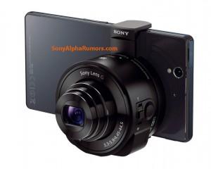 Sony QX10 на Xperia Z1
