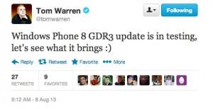 Том Уоррен в твиттере