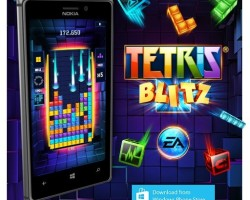 Nokia портирует на Windows Phone игру Tetris Blitz
