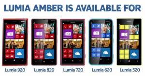 Nokia Lumia Amber