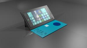 Концепт фаблета Microsoft Surface