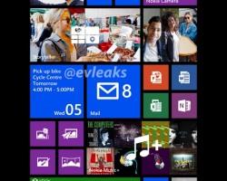 Стартовый экран Nokia Bandit / 1520