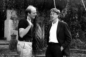 Стив Балмер и Билл Гейтс. 80-е гг. XX в.
