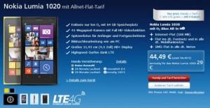 Nokia Lumia 1020 с 64 Гб памяти в Германии