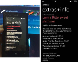 Nokia Lumia 520 и 920 с WP8 GDR3 Bittersweet Shimmer (Фото)