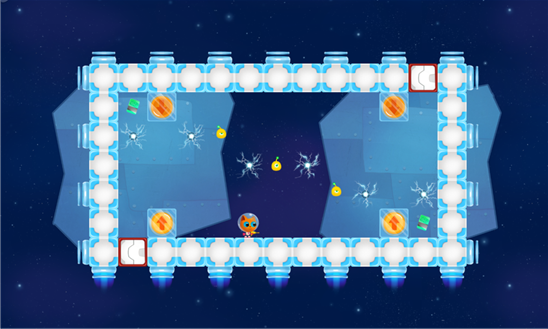 Игра для Windows Phone - Space Kitty
