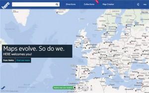 Карты Nokia HERE
