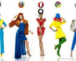 Что, если браузеры были бы девушками?