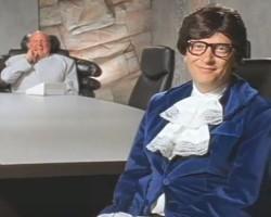 Юмор: Билл Гейтс в роли Остина Пауэрса и Стив Балмер как Доктор Зло