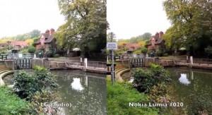 LG G2 и Nokia Lumia 1020