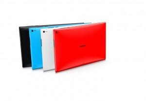 Цветовая гамма Lumia 2520