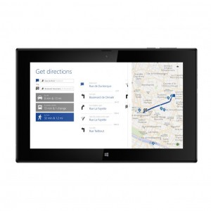 Lumia 2520 Here maps