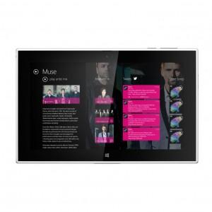 Lumia 2520 music