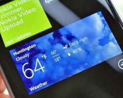 Обновление «Bing Weather» для Windows Phone 8