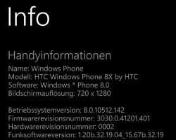 Началась рассылка Update 3 для HTC 8X