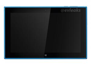 Nokia Lumia 2520 в синем корпусе