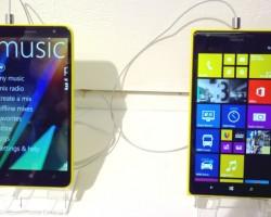 Nokia Lumia 1320 и Nokia Lumia 1520: фото