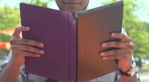Кадр из рекламы Touch Cover для Surface 2