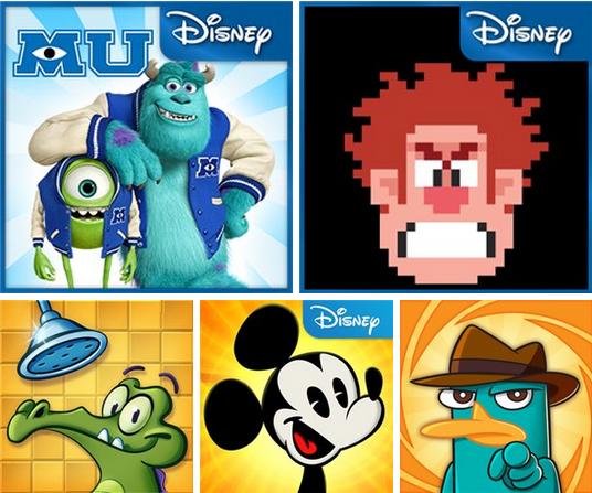 Игры от Disney