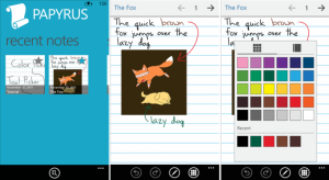 Papyrus для Windows Phone 8