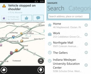 Waze для Windows Phone