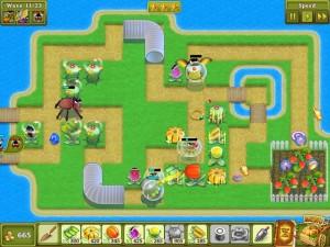 Garden Rescue геймплей