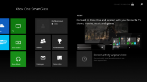 Xbox One SmartGlass для Windows 8.1