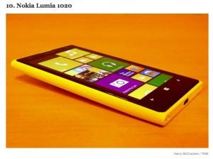 Nokia Lumia 1020 - десятое место