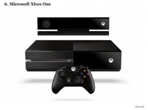 Microsoft Xbox One - шестое место