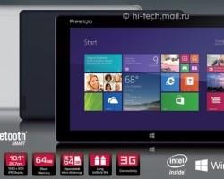 Prestigio Multipad Visconte — 10-дюймовый Windows 8.1-планшет за 14 790 рублей