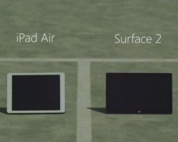 Surface 2 vs. iPad Air: на корте