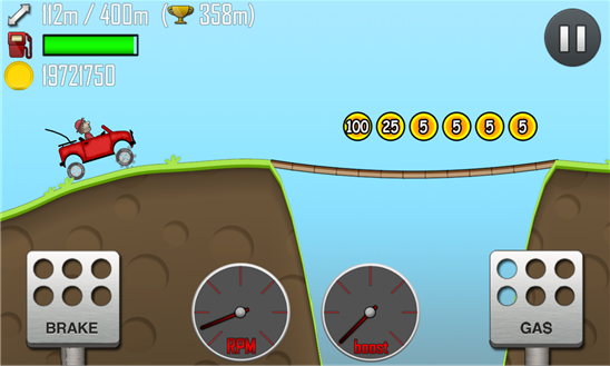 Hill climb racing windows phone