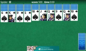 Solitaire для Windows Phone 8