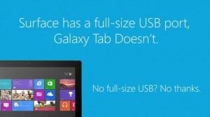 Microsoft Surface 2 и Samsung Galaxy Tab