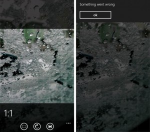 Nokia Camera удаляет фотографии
