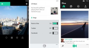 Vine на Windows Phone