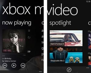 Xbox Music и Xbox Video