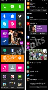 Интерфейс Nokia Normandy