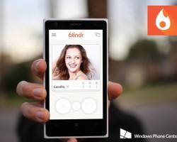 На Windows Phone появится официальный клиент Tinder