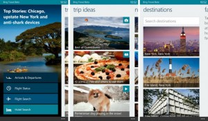 Bing Travel Beta