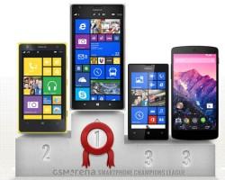 Смартфон Nokia стал победителем Лиги Чемпионов