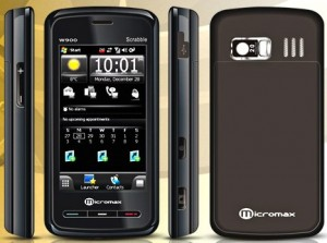 Смартфон Micromax W900 на Windows Mobile